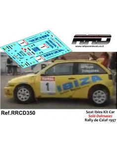 Seat Ibiza Kitcar Sole-Dalmases Rally de Calaf 1997