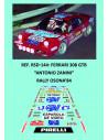 Ferrari 308 GTB - Antonio Zanini - Rally Osona 1984