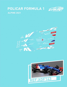 POLICAR F1 ALPINE 2021