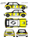 Renault 5 Turbo Genito Corte Ingles 1983