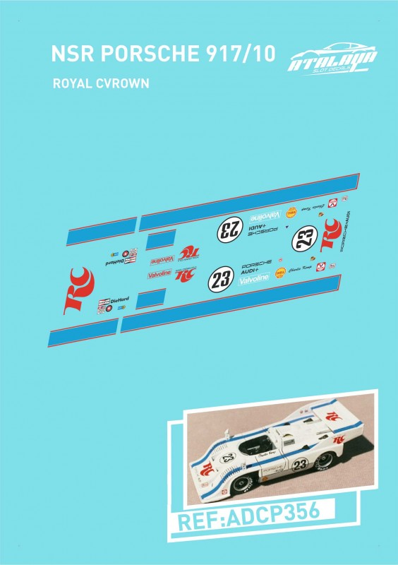 NSR PORSCHE 917/10 ROYAL CVROWN
