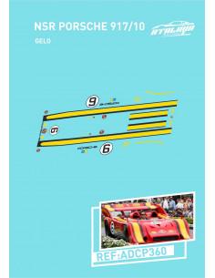NSR PORSCHE 917/10 GELO