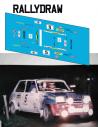 Renault 5 Alpine Mora Arrojo 1983