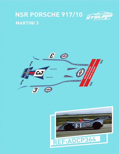 NSR PORSCHE 917/10 MARTINI 3