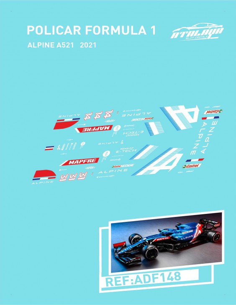 POLICAR F1 ALPINE A521 2021