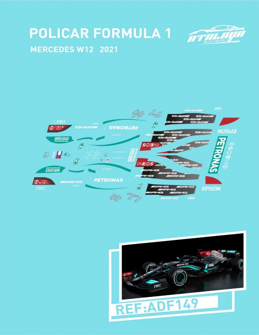 POLICAR F1 MERCEDES W12 2021