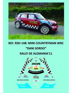Mini Countryman WRC - Dani Sordo - Rally Alemania 2011