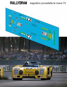 Chevron B23 Bagration-Juncadell Le Mans 1973