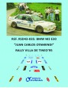 BMW M3 E30 - Juan Carlos Otamendi - Rally Villa de Tineo 1995