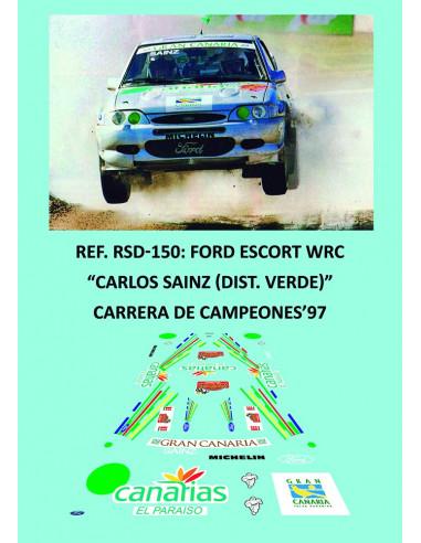 Ford Escort WRC - Carlos Sainz (Dist. Verde)- Carrera de Campeones 1997