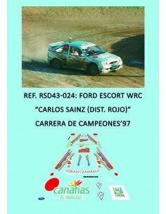 Ford Escort WRC - Carlos Sainz (Dist. Rojo) - Carrera de Campeones 1997