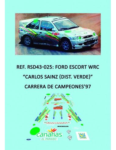 Ford Escort WRC - Carlos Sainz (Dist. Verde) - Carrera de Campeones 1997