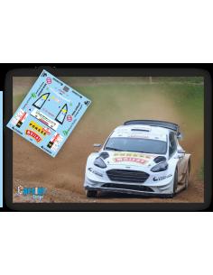 Ford Fiesta WRC E.Lappi & J.Ferm Louna Eesti Rallye