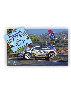 Skoda Fabia R5 M.Suarez & D.Sosa Rallye Islas Canariass 2020
