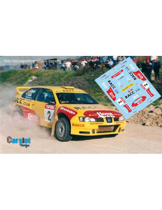 SEAT CORDOBA WRC D.SOLA & A.ROMANI RALLY TIERRA MADRID 2002