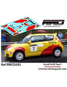 Suzuki Swift Jimenez-Forcada Criterium del Bergueda 2008997
