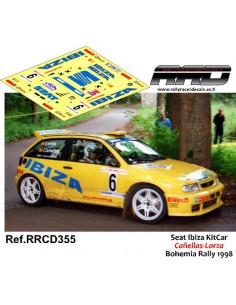 Seat Ibiza KitCar Cañellas-Lorza Bohemia Rally 1998