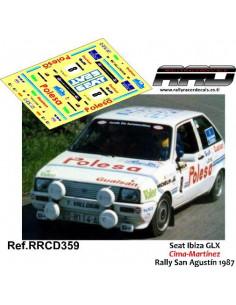 Seat Ibiza GLX Cima-Martinez Rally San Agustin 1987