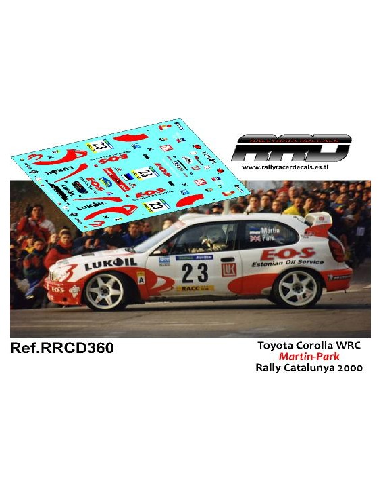 Toyota Corolla WRC Martin-Park Rally Catalunya 2000