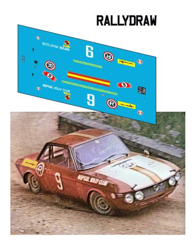 Lancia Fulvia Ruiz-Giménez Race 1969