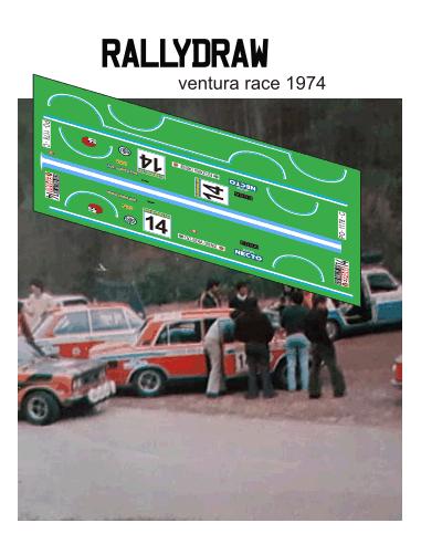 Seat 1430 Ventura Race 1974