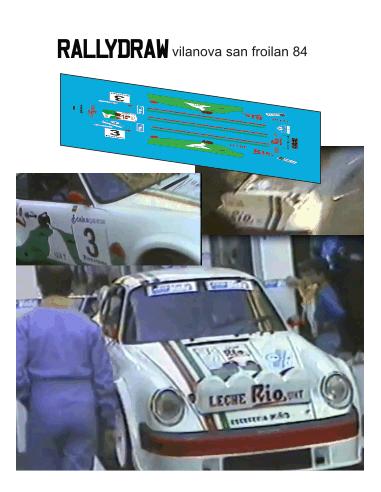 Porsche 911 Vilanova San Froilan 1984