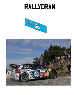 Transkit Volkswagen Polo Ogier Corse 2016