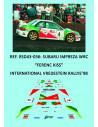 Subaru Impreza WRC - Ferenc Kiss - Int. Vredestein Rallye'98