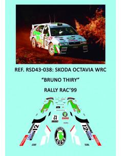 Skoda Octavia WRC - Bruno Thiry - Rally RAC 1999