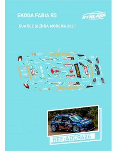 Skoda Fabia R5 Suarez Sierra Morena 2021