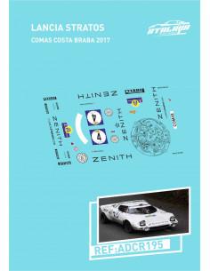 Lancia Stratos Comas Costa Brava 2017