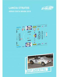 Lancia Stratos Heras Costa brava 2018