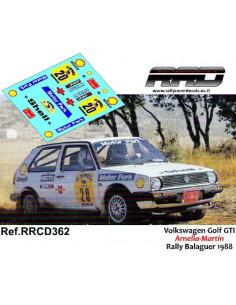 Volkswagen Golf GTI Mk2 Arnella-Martin Rally Balaguer 1988