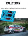 Ford Fiesta R5 Senra botafumeiro 2018