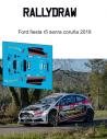 Ford Fiesta R5 Senra coruña 2018