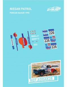 Nissan Patrol Porcar Dakar 1990