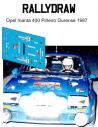 Opel Manta 400 Piñeiro Orense 1987