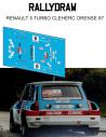 Renault 5 Turbo Cleherc Orense 1987