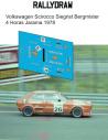 Volkswagen Scirocco Siegrist Bergmister 4 Horas Jarama 1978