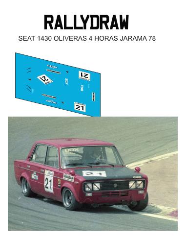 seat 1430 oliveras jarama 1978