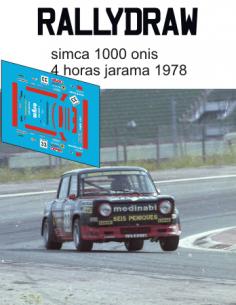 simca 1000 onis jarama 1978