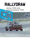 Simca 1000 Onis 4 Horas Jarama 1978