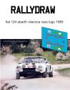 Fiat 124 Abarth Vilanova Race Lugo 1985