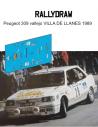 Peugeot 309 Vallejo Llanes 1989