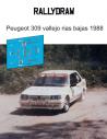 Peugeot 309 Vallejo Rias Bajas 1988