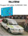 Peugeot 309 Vallejo Ourense 1992
