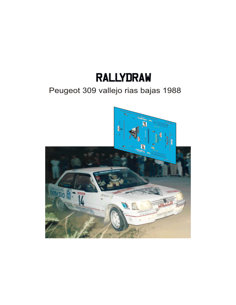 peugeot 309 vallejo san froilan 1989
