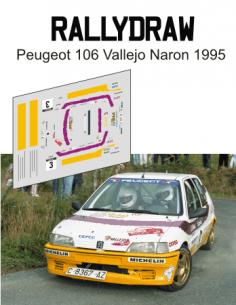 peugeot 106 vallejo naron 1995