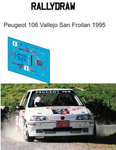 peugeot 106 vallejo san froilan 1995