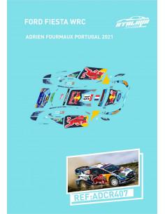 Ford Fiesta WRC Fourmaux Portugal 2021